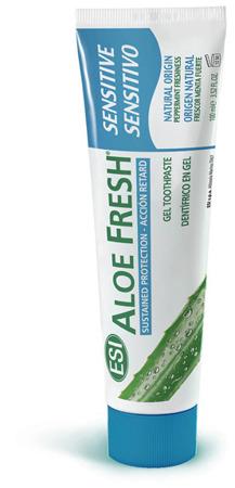 ALOE FRESH Sensitive pasta z naturalnym z sokiem z aloesu do zębów wrażliwych i krwawiących dziąseł