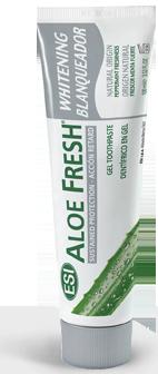 ALOE FRESH Whitening GEL żelowa pasta z naturalnym z sokiem z aloesu o działaniu wybielającym i rozjaśniającym