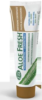 ALOE FRESH Whitening pasta z naturalnym z sokiem z aloesu o działaniu wybielającym i rozjaśniającym