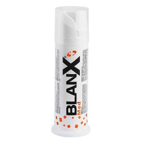 BLANX Med Anty - Osad- pasta usuwająca uciążliwe przebarwienia zewnątrzpochodne (kawa, herbata, wino, tytoń), 75 ml