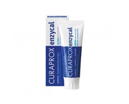CURAPROX Enzycal 950 - pasta do mycia zębów z enzymami nowej generacji, bez substancji szkodliwych, 75 ml