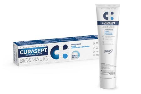 CURASEPT BIOSMALTO PROTECTION PASTA do intenesywnej profilaktyki szkliwa zębów, 75 ml