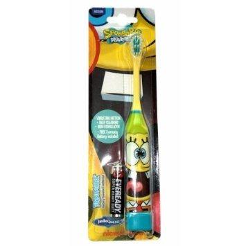 DR FRESH Sponge Bob - szczoteczka do mycia zębów dla dzieci na baterie, od 6 roku życia