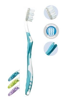 ELGYDIUM Whitening Microball- wybielająca szczoteczka do mycia zębów, medium