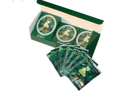 G&A Tea Cosmetics Ujino Hana set - maseczka do twarzy na bazie katechiny z zielonej herbaty, 21 x 5g