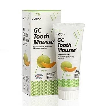 GC Tooth Mousse - płynne szkliwo bez fluoru, odżywka do intensywnej odbudowy szkliwa, smak melon