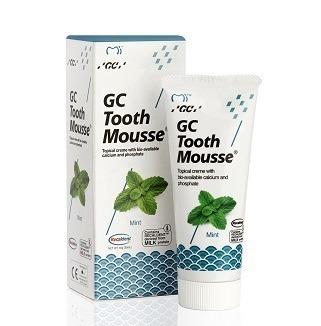 GC Tooth Mousse - płynne szkliwo bez fluoru, odżywka do intensywnej odbudowy szkliwa, smak mięta