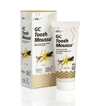 GC Tooth Mousse - płynne szkliwo bez fluoru, odżywka do intensywnej odbudowy szkliwa, smak waniliowy