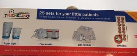 KIDS BOX Girl - zestaw dla małych pacjentów