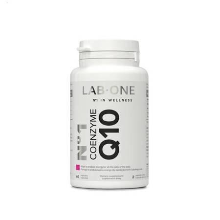 LAB-ONE N°1 Coenzyme Q10 - suplement z koenzymem, 60 kasp