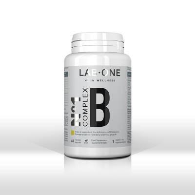 LAB-ONE N°1 Complex B zestaw witamin z grupy B, 60 kaps