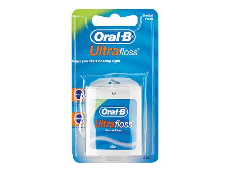 ORAL-B Ultra Floss - Pęczniejąca nić dentystyczna 25 m