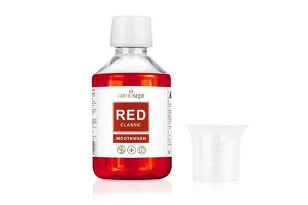 ORTHOSEPT RED CLASSIC medyczny leczniczy  płyn do płukania jamy ustnej