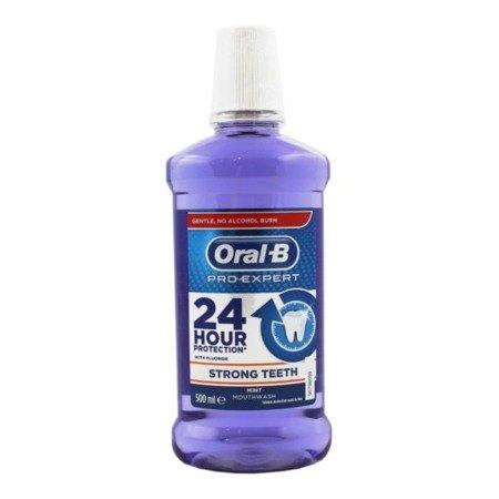 Oral-B Pro-Expert 24 HOUR PROTECTION Cleanic Line - płyn do płukania jamy ustnej bez alkoholu, 500 ml