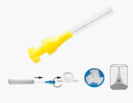 PARO ISOLA 3STAR 2.6 mm - końcówki wymienne międzyzębowe do szczoteczek 5 szt