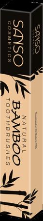 SANSO NATURAL BAMBOO TOOTHBRUSH bambusowa szczoteczka do mycia zębów, soft