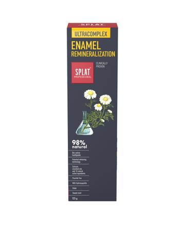 SPLAT BIO PROFFESIONAL ULTRACOMPLEX  ENAMEL  multiaktywna pasta wzmacniająca wrażliwe szkliwo zębow  125g