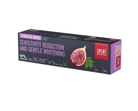SPLAT BIO Proffesional SENSITIVE White - pasta wybielająca szkliwo do zębów wrażliwych, 125g