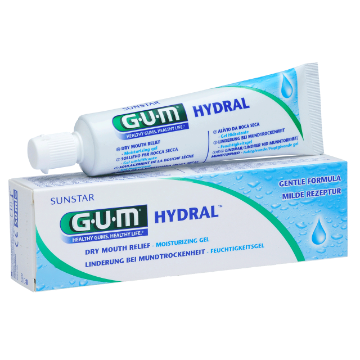 SUNSTAR GUM HYDRAL GEL żel nawilżający przeciw suchości jamy ustnej, 50 ml
