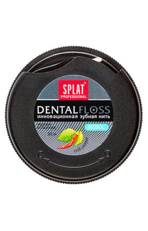 Splat Dental Floss czarna nić dentystyczna  z papryczką Chili - 30 m - TOWAR WYPRZEDANY