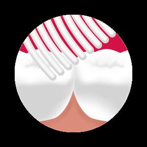 Splat Whitening HARD - szczoteczka inensywnie wybielająca do mycia zębów- zielona