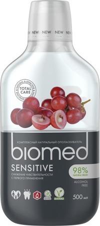 Splat biomed SENSITIVE Mouthwash naturalny płyn do płukania jamy ustnej, 500 ml