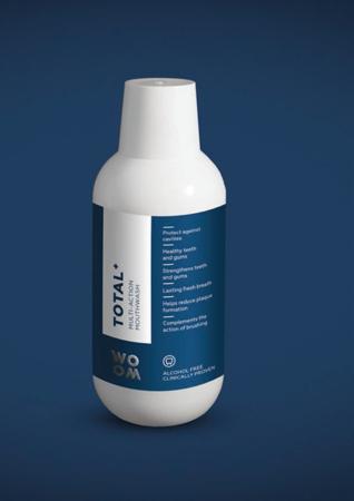 WOOM MULTI-ACTION TOTAL+  kompleksowy płyn do płukania jamy ustnej, 500 ml